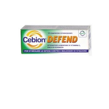 CEBION DEFEND 12 COMPRESSE...