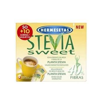HERMESETAS STEVIA 50+10...
