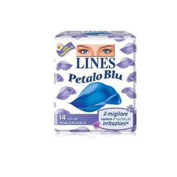 LINES PETALO BLU NOTTE ALI...
