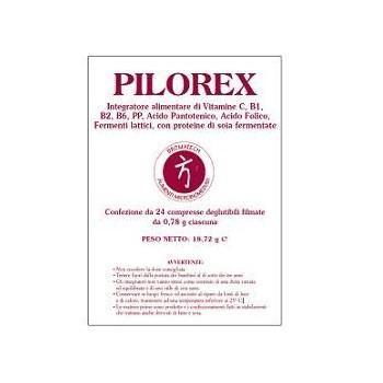 PILOREX 24 COMPRESSE