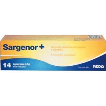 SARGENOR PLUS 14 COMPRESSE