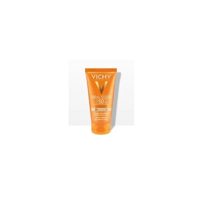 IDEAL SOLEIL VISO VELLUTA BB SPF50+ 50 ML