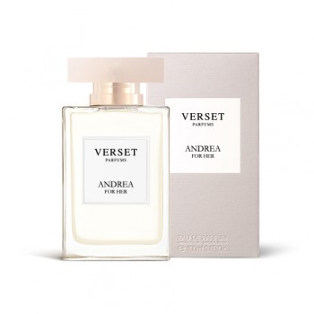 VERSET ANDREA FOR HER EAU...