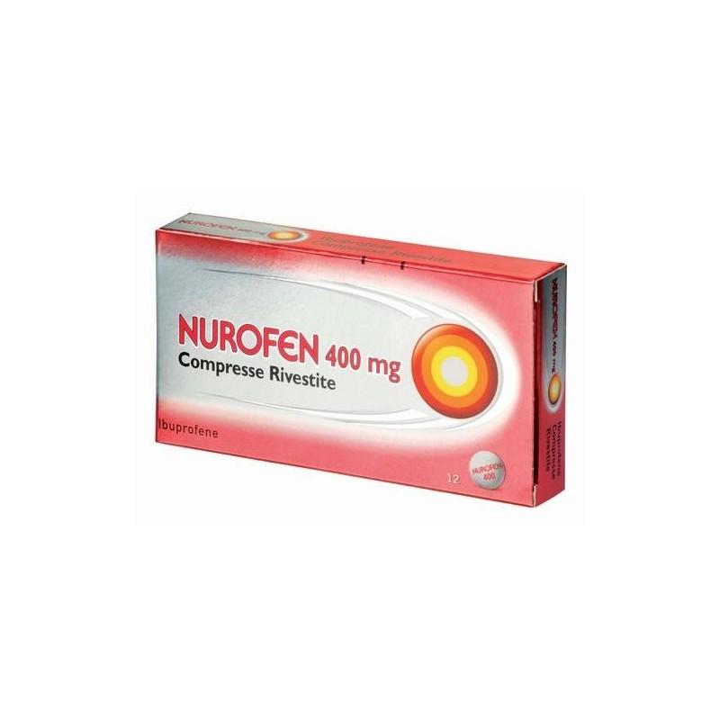 NUROFEN*12CPR RIV 400MG PVC/AL