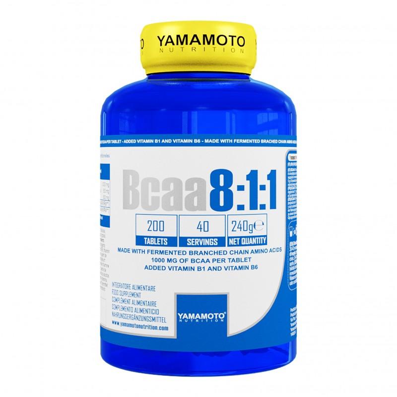 BCAA 8:1:1 YAMAMOTO 200 CPR